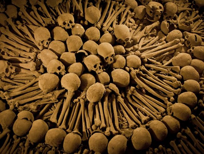 Catacombs at the Catedral de Lima