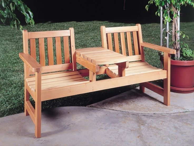 Wooden Garden Furniture Handmade This Pin And More On Inside Ideas