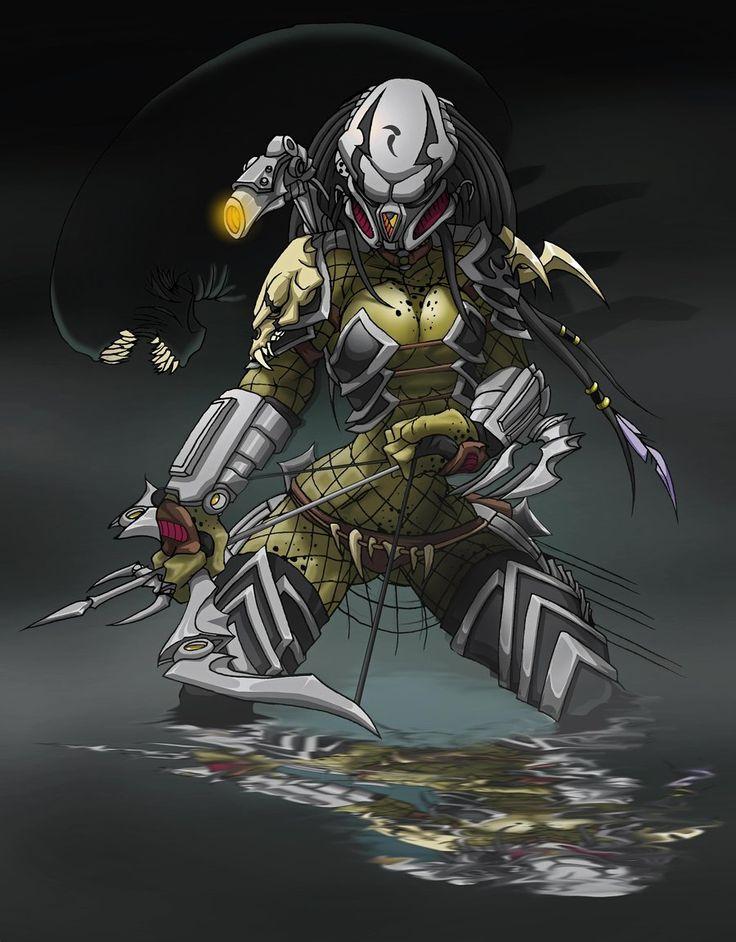 2646 Predator Girl by Spoon02.deviantart.com