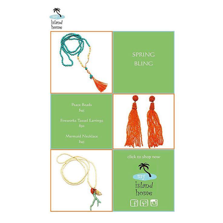 👑 Spring Bling 👑 #necklace #beads #earrings #beachy #jewels #jewelry #jewlery #myislandhome #laidback #beachvibes #sydneystyle #since2001