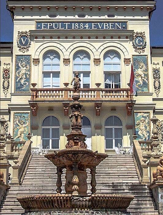 Vasváry Villa, Pécs Hungary