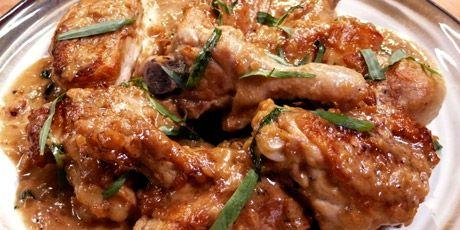 """Tarragon Chicken"" by Laura Calder"