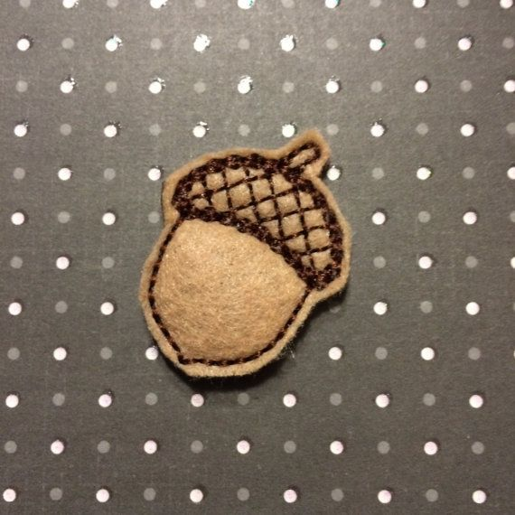 This listing is for an UNCUT machine embroidered felt appliques, felties, stitchies or clippies. Add more sets to cart for low combined shipping. This item can be used for so many things. Scrapbooking, hair bows, bookmarks, journals, accessories or clothing, badge retractor.  Bow Centers, Hair Clips, Clothing Embellishments, Card Making, Crafting, School Projects, badge reels, headbands. Handmade by me from felt, fabric and thread. Embellishments are machine embroidered on felt and have a…