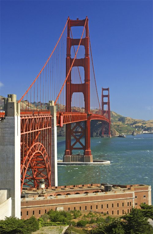 Puente Golden Gate, San Francisco, CA, EE.UU., 1933 - 1937 | José Miguel Hernández Hernández