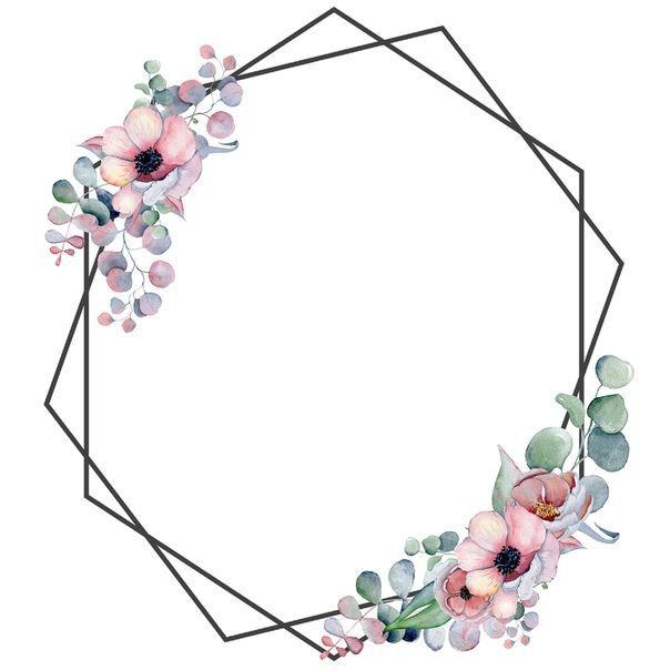Roses Stili I Stranichki Dlya Skrapa Flower Frame Birthday Wallpaper Floral Background
