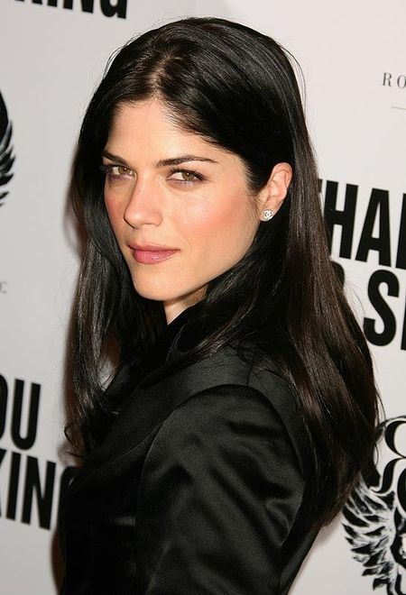 Selma Blair, very unique, gorgeous dark features. Love her bone structure. Beautiful beyond measure