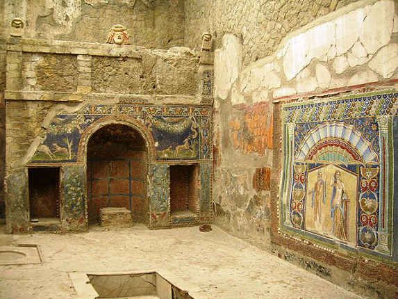 Herculaneum is famous because of its tragic story. You can still visit Herculaneum ruins by visiting the UNESCO archeological site in the Campania region.