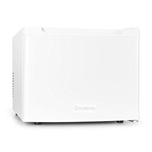 Klarstein – Mini frigo silencieux 35L – Minibar pour chambres, hotels (acier inoxydable, 1 étagère, classe d'énergie B): Le Manhattan de…