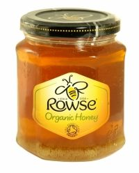ROWSE ORGANIC HONEY 340G CLEAR PURE