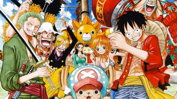 Mugiwata Crew _ New world! Background | One Piece ...