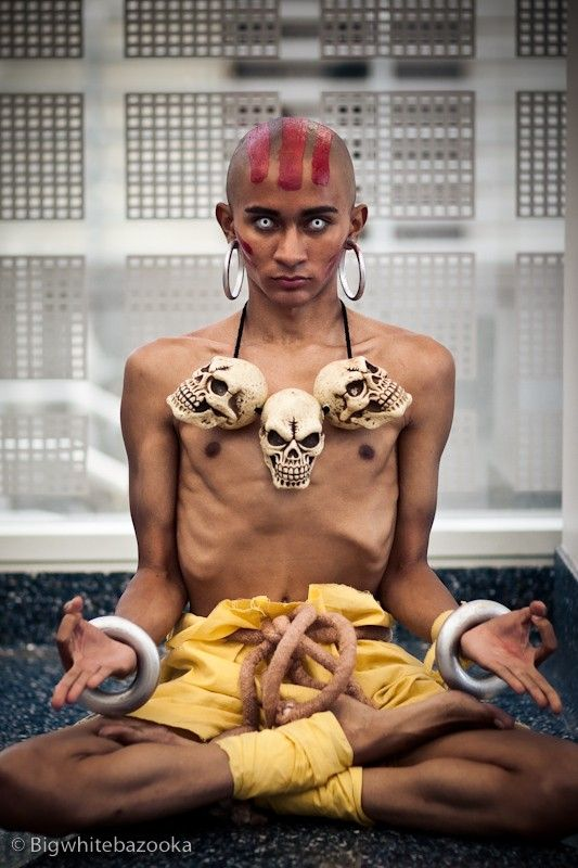 Dhalsim (Street Fighter), cosplayed by E-D-G, photographed by BigWhiteBazooka - Best Cosplay Ever (This Week) - 02.04.13