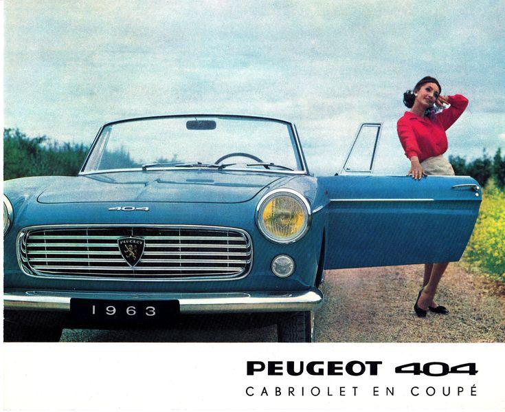 Peugeot 404 Cabriolet (1963)