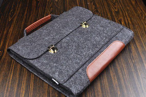 Surface pro 3, feutre housse d'ordinateur portable, cas de Surface pro 2, manchon de Surface 3 pro, sac de Surface 3 pro, housse de portable de l'homme, besace en cuir