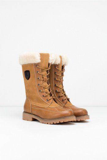 Boden Winter Boots in Tan by Rudsak