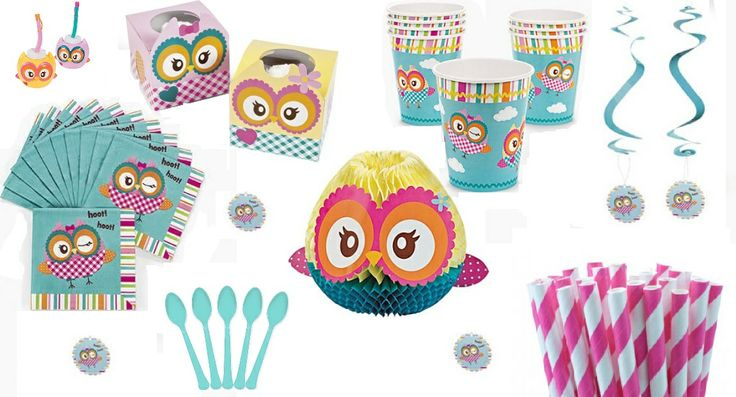 Birthday Party Supplies Owl Themed Birthday Party Supplies