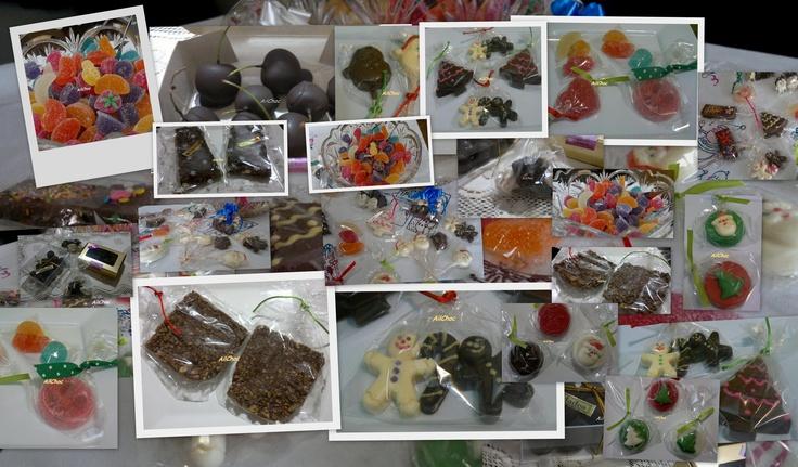 Todas nuestras delicias que hicimos para las fiestas.