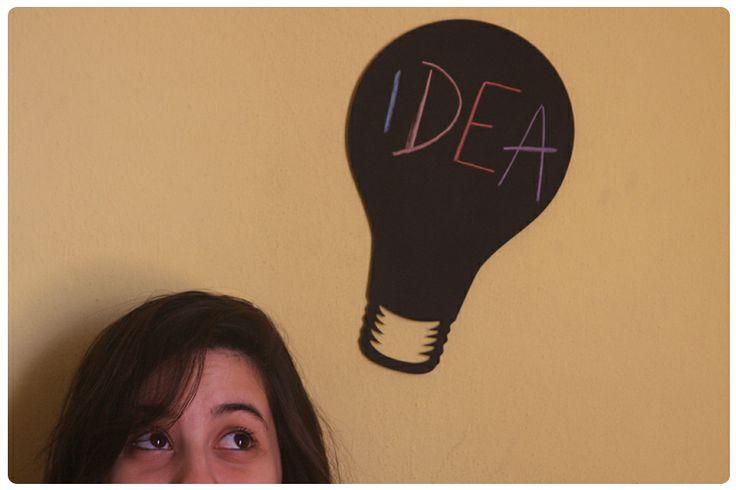 Tus mejores ideas encuentran su lugar en tu tizarrón!