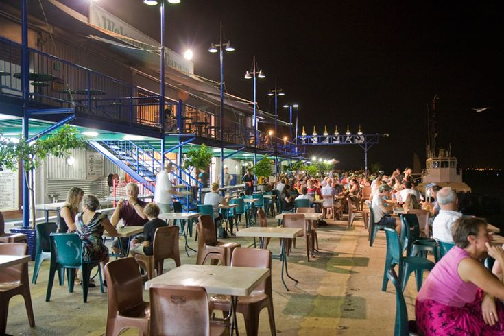 Dinner at stokes Hill Wharf