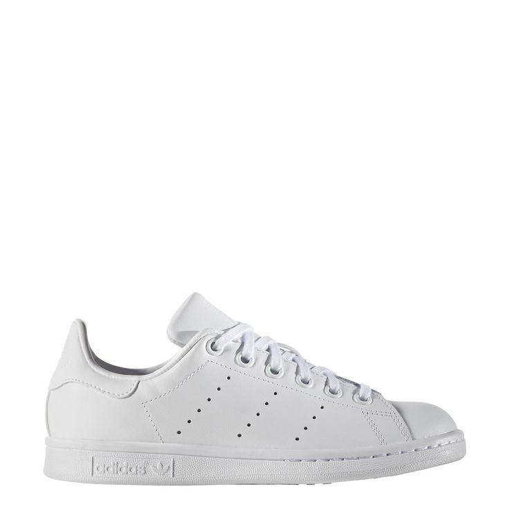 ADIDAS STAN SMITH KIDS SNEAKERS all white