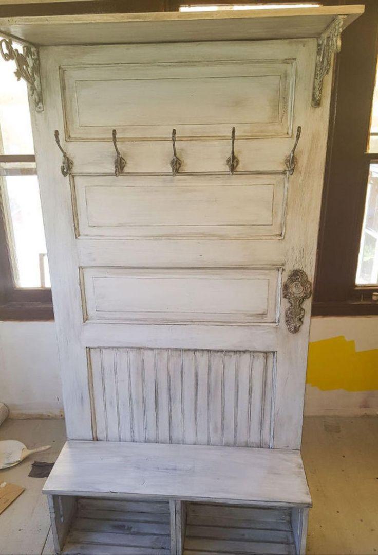 Best 25 peinture meuble bois ideas only on pinterest - Vieille porte en bois ...