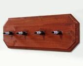 Spark plug Coat Hanger (Tapped metal backing, rather than wood please.)