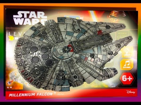 REVIEW STAR WARS HALCON MILENARIO REVELL MAQUETA UNBOXING