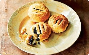 Paul Hollywood's recipe for Eccles Cakes, taken from British Baking, two   40-page booklets, free inside the Telegraph this weekend.