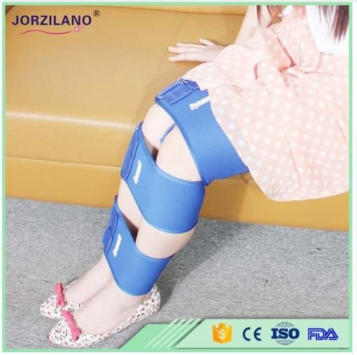 3-Belt Ajustable O&X Leg Orthotic Tape Posture Corrector Legs Belt Curves Elastic Bandage High Quality Bowlegs Leggings Hips