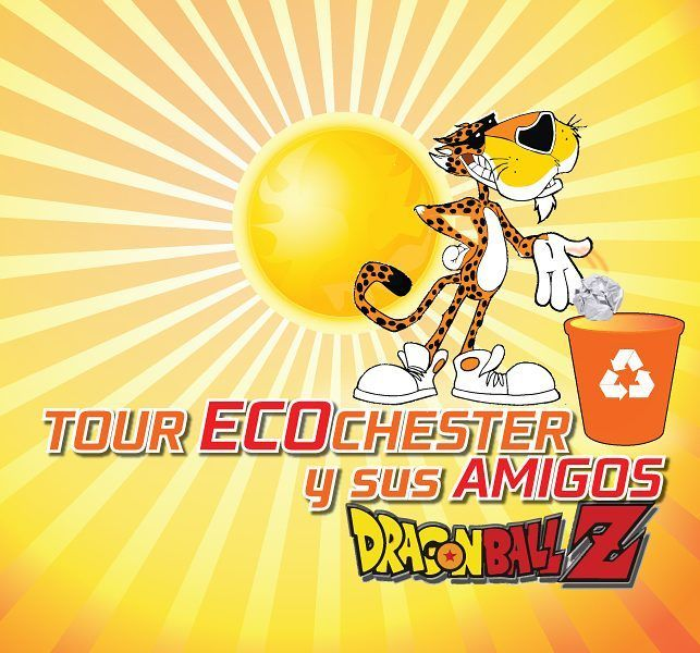 Logo Tema Tour Chester Cheetos 2 #3D #2D #diseño #design #sketch #sketchup #sketchup3d #keyshot #C4D #Cinema4D #photoshop #creatividad #panama by manicomiodigital
