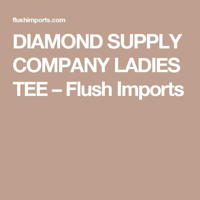 DIAMOND SUPPLY COMPANY LADIES TEE – Flush Imports