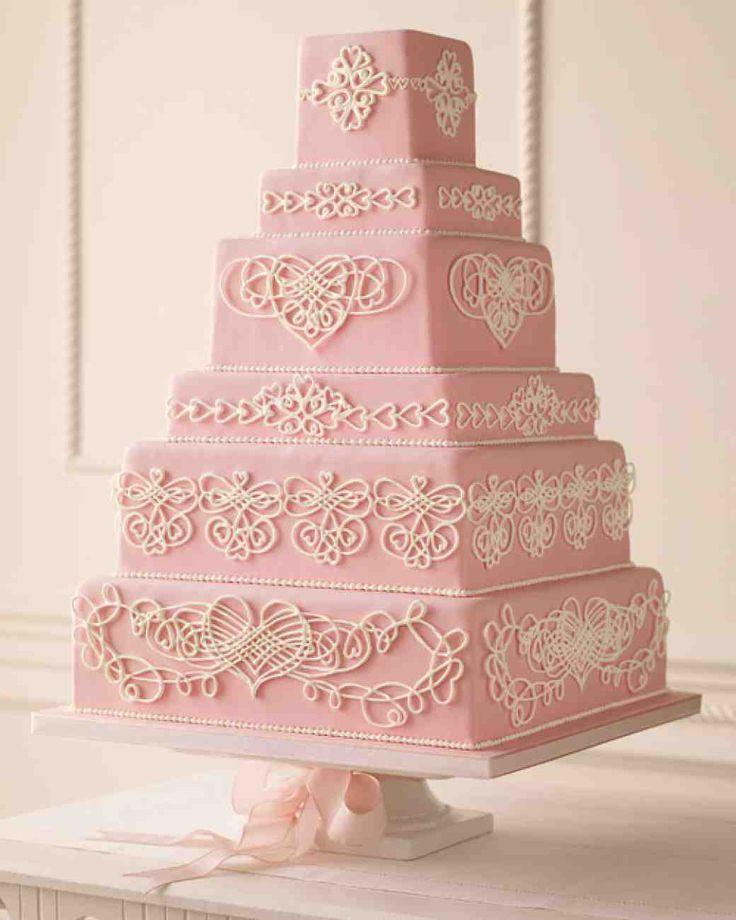 The 25+ best Red heart wedding cakes ideas on Pinterest | Black ...