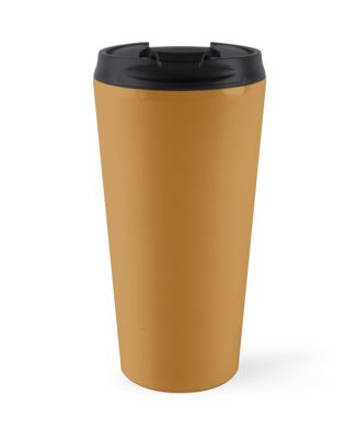 'Peanut Butter' Travel Mug by Moonshine Paradise #peanutbutter #food #pantone #travel #mugs