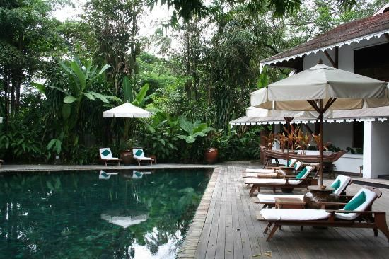 The swimming pool - Picture of Belmond Governor's Residence ...