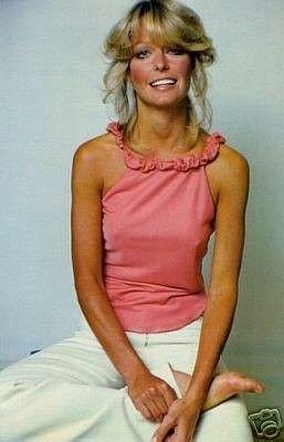 Farrah Fawcett Charlie S Angels 8x10 Photo Barefoot