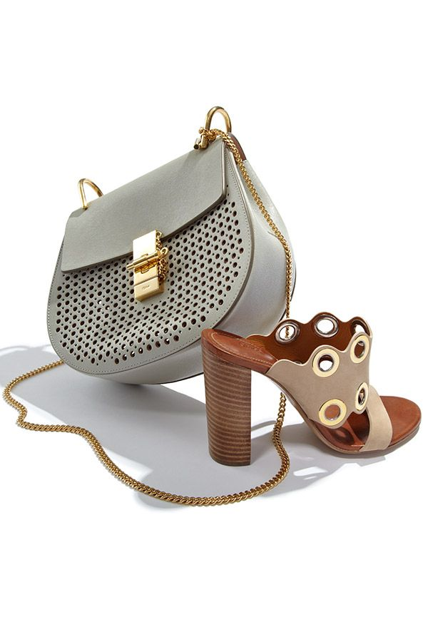 """Live """"La Vie Francaise"""" with shoes & bags by Chloe."""