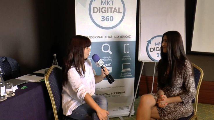 Testemunho sobre o Master Marketing Digital 360 de Patrícia Mortinho! Saiba mais em http://www.marketingdigital360.net/