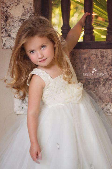 Pretty princess poses for her stepdad