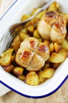 Paupiettes de Porc et Pommes de Terre Sautées