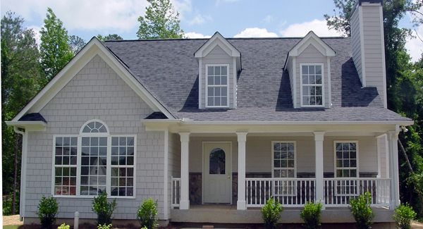 1000 ideas about cape cod houses on pinterest house for Single story cape cod house plans