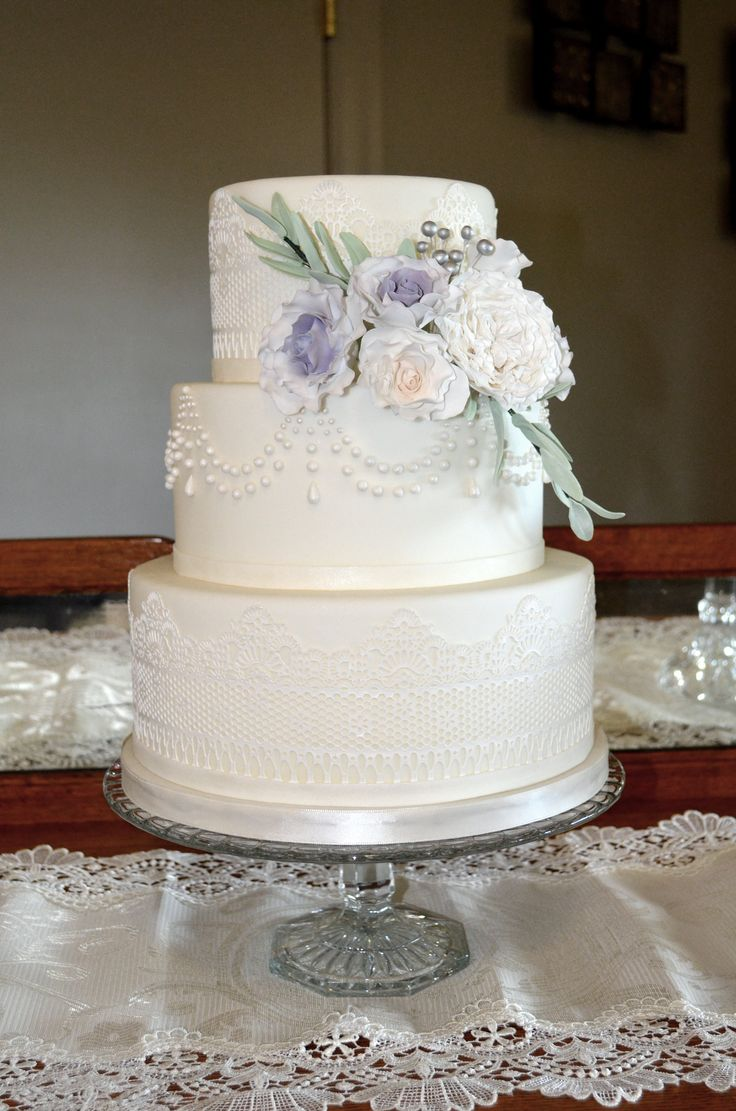 wedding cakes lace and pearl 39 best wedding cake gallery images on 24864