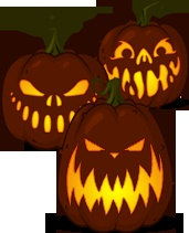 Zombiepumpkins.com-The best place to find stencils for pumpkin carving! I personally love the Nightmare Before Christmas stencils :)