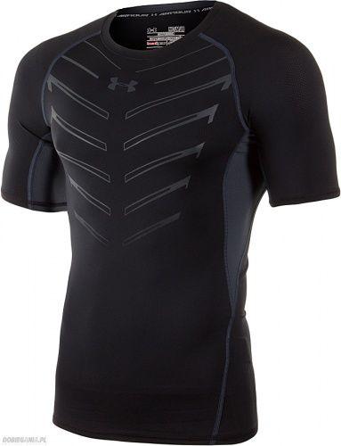 koszulka kompresyjna do biegania Under Armour ARMOUR Heatgear EXO Czarny
