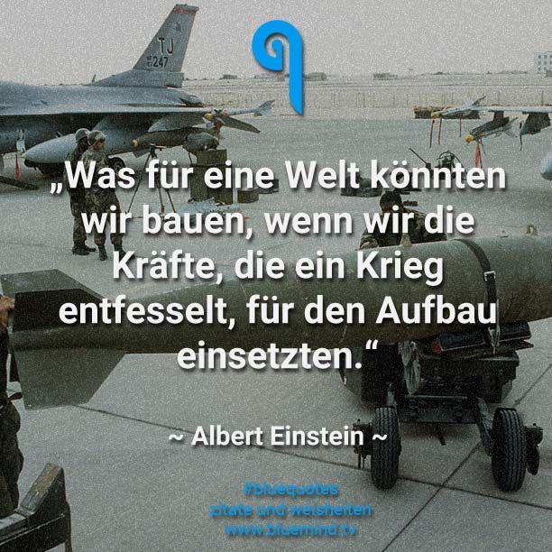 Die besten Zitate über Krieg und Frieden
