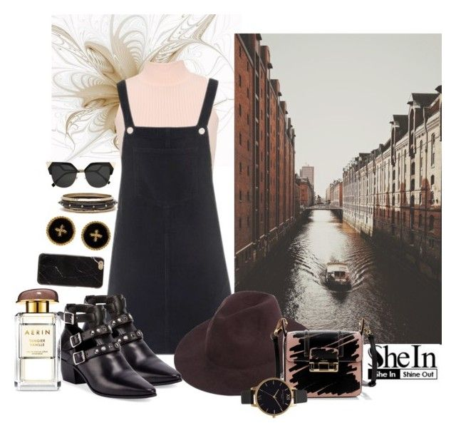 With a kiss in flow by nicolepuppy on Polyvore featuring Topshop, WearAll, Yves Saint Laurent, Lanvin, Olivia Burton and Fendi