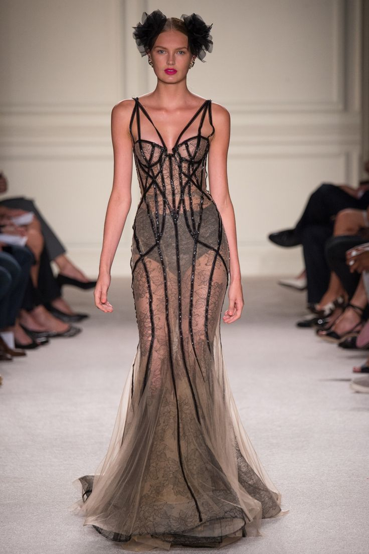 Marchesa Spring 2016 Ready-to-Wear Collection Photos - Vogue Marchesa is designed by Keren Craig and Georgina Chapman. Lingerie Inspiration