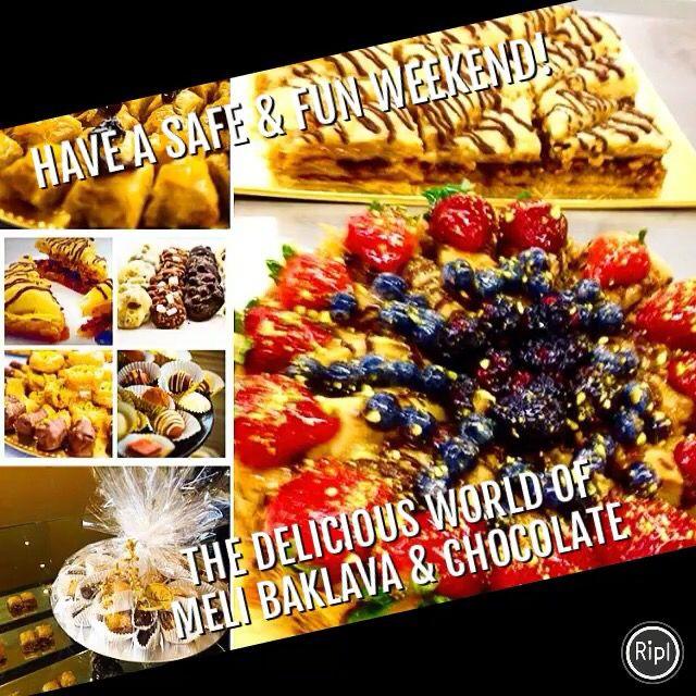 Handmade Baklava & Chocolate! 238 Queen St West, Toronto