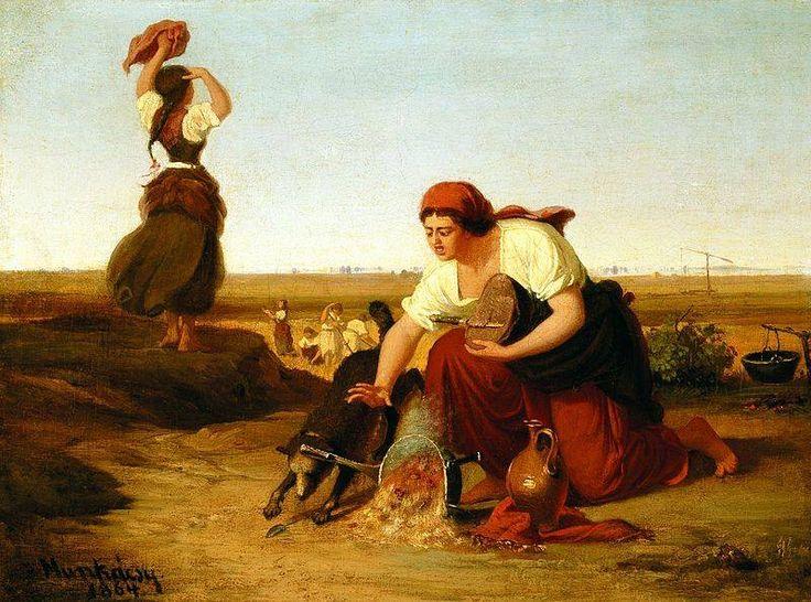 Munkácsy Mihály (1844-1900) - A feldöntött bogrács