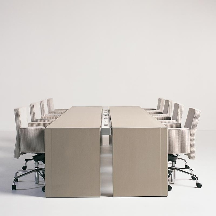 conference table DOUBLE YOU by Hannes Wettstein BULO