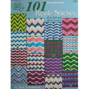 More ripple stitch book #crochet