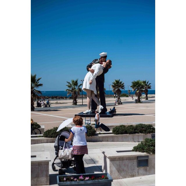 Sailor kisses from Civitavechia-Italy #my2014inphotos #aroundtheworld2014 #travelphotography #travel @natgeotravel #italy #nikon #nikontravel #igerscolombiaext #igerscivi #igersitaly #sailor #kiss